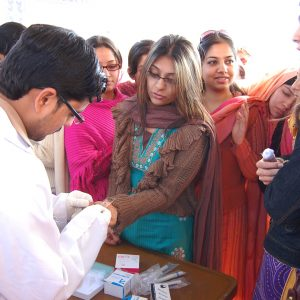 Blood Type Awareness at IIUI, Islamabad