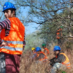 High Angle Rescue Exercise at Margalla